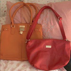 (2) BCBG shoulder bags 👛